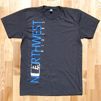 Northwest Riders O-Tree Tee (Asphalt) 1