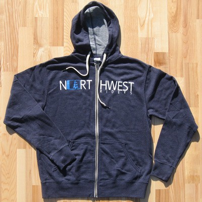 Northwest Riders Thinny Zip Hoody (Navy) 1