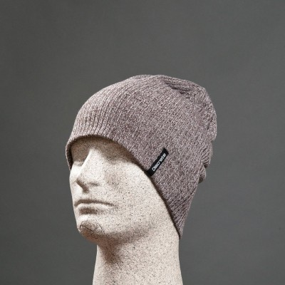 Discrete Vaston Beanie Charcoal