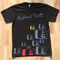 Northwest Riders Appelwick Tee Black 1
