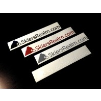 SkiersRealm Horizontal Stickers