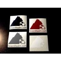 SkiersRealm Block Sticker Pack